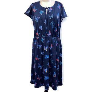 NEW Modcloth Butterfly Surefire Novelty Knit Dress